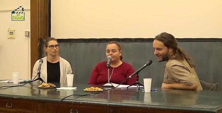 Studio 27 - Když mámu bolí duše - beseda s Bárou Lacinovou a Markétou Sedláčkovou - zkrácená verze