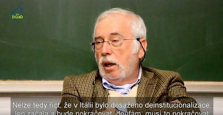 Studio 27 - Lorenzo Toresini - O zavírání psychiatrických léčeben v Itálii