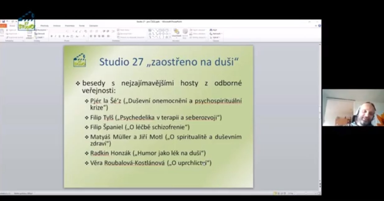 Studio 27, ČSDZ - Svépomoc a peerství - část 01 - Břetislav Košťál - Studio 27